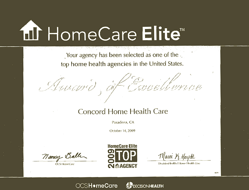 Health Care In Pasadena California Concord Home Health Care